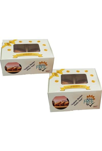 Glutensiz Neka Kayısılı Glutensiz Kek 2'li 250 gr