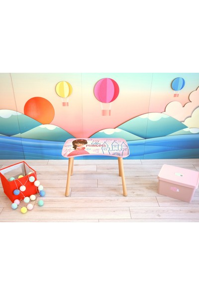 Popcorn Kids Little Princess Aktivite Masa Seti