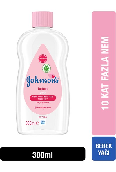 Johnson's Baby Yağ Normal 300 ml