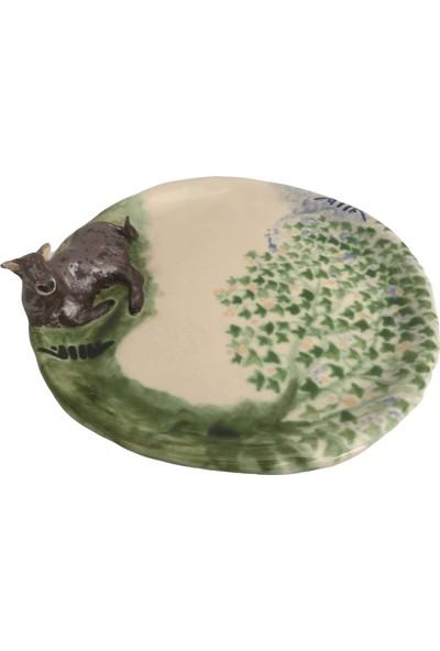 Alla Ceramics Kahverengi İnek