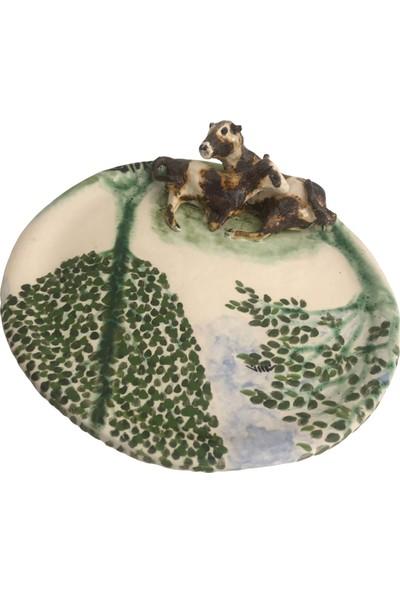 Alla Ceramics Alaca Buzağı ve İnek