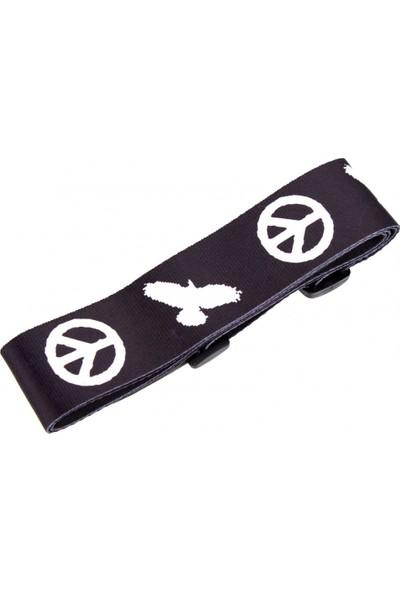 Mikado Geniş Peace Desen Baskılı Gitar Askısı
