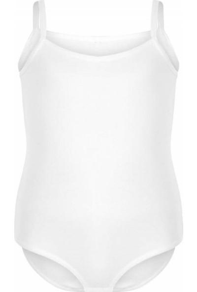 Kota Iç Giyim Kız Çocuk Ip Askılı Çıtçıtlı Atlet Body 9-14 Yaş