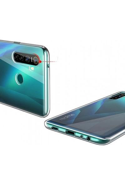 Kılıfplus Realme 5i Kılıf Ultra Ince Esnek Süper Silikon 0.3mm - Şeffaf