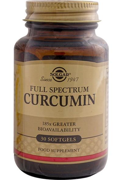 Solgar Full Spectrum Curcumin 30 Kapsül