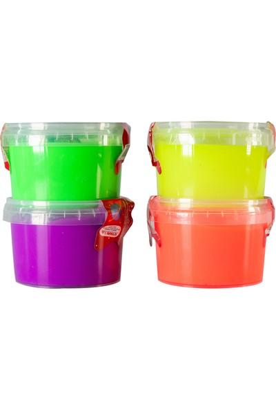 um Toys Slime Işıklı Oyun Jeli 170 gr - 4 Adet