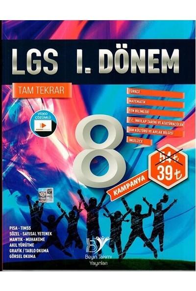 Beyin Takımı Yayınları 8. Sınıf LGS 1. Dönem Tam Tekrar Soru Bankası
