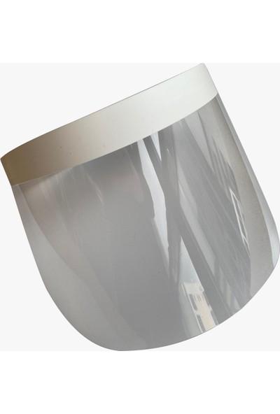 Plastiker Yüz Siperi Beyaz 10'lu
