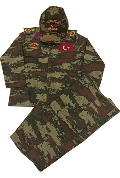 Mercantex Çocuk Asker Kıyafeti