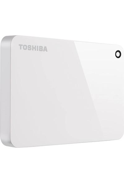 Toshiba HDTC910EW3AAH Canvio Advance 1 Tb 2.5 Inç USB 3.0 Taşınabilir Disk Beyaz