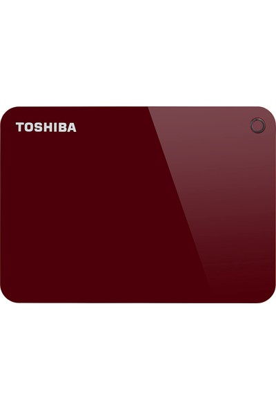 Toshiba HDTC910ER3AAH Canvio Advance 1 Tb 2.5 Inç USB 3.0 Taşınabilir Disk Kırmızı
