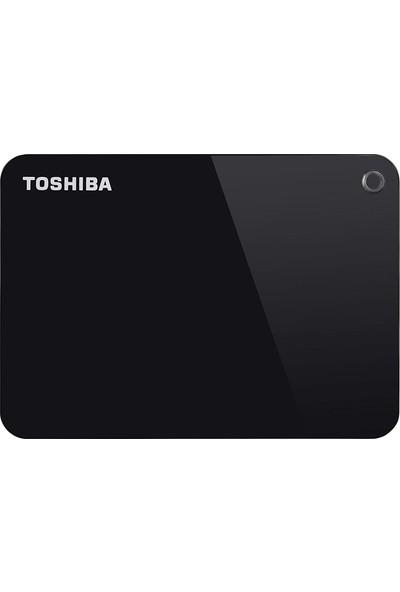 Toshiba HDTC910EK3AA Canvio Advance 1 Tb 2.5 Inç USB 3.0 Taşınabilir Disk Siyah