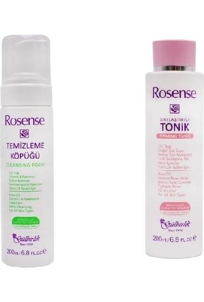 Rosense Temizleme Köpüğü 200 ml + Sıkılaştırıcı Tonik 200ML