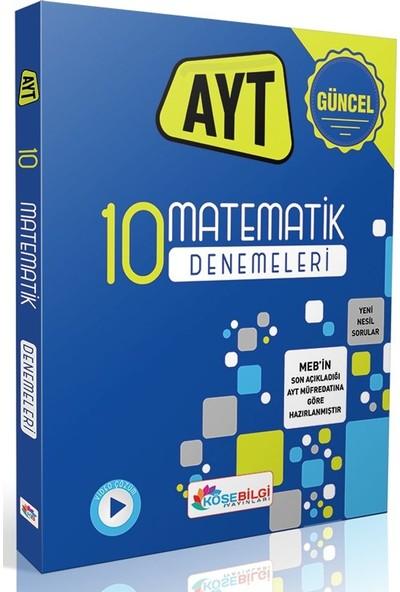 Köşe Bilgi Yayınları AYT Matematik 10 Branş Denemesi