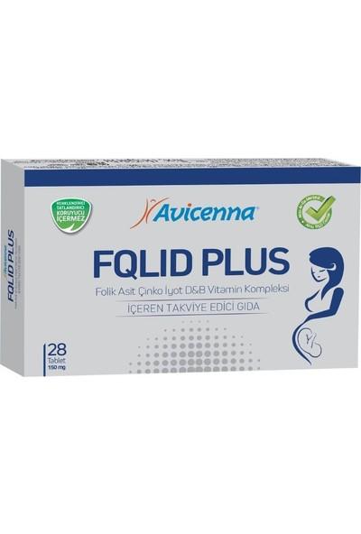 Avicenna Folid Plus Çinko İyot D -B Vitamin Kompleksi 28 Tablet
