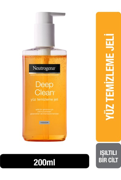Neutrogena Deep Clean Yüz Yıkama Jeli 200 Ml