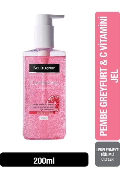 Neutrogena Canlandırıcı Yüz Yıkama Jeli Pembe Greyfurt 200 ml