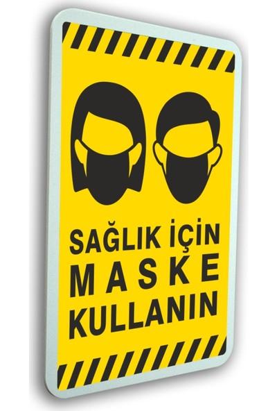 Passpano Sağlık Için Maske Kullanın 21 x 30 cm