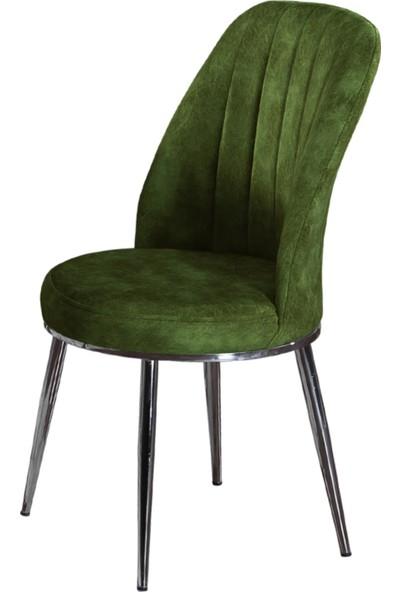 Armens Natura Mutfak Bahçe Cafe Restorant Sandalyesi Metalik Ayak