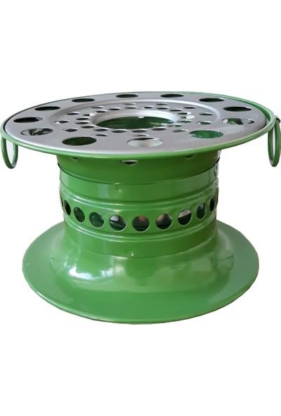 Reşo Yakıtlı Osmanlı Piknik Ocağı Yeşil