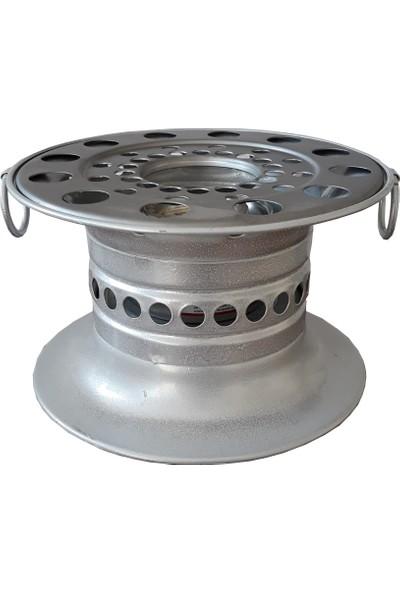 Reşo Yakıtlı Osmanlı Piknik Ocağı Gümüş