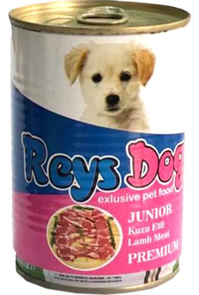 Reys Dog Kuzu Etli 415 gr Konserve Yavru Köpek Maması- 24'lü