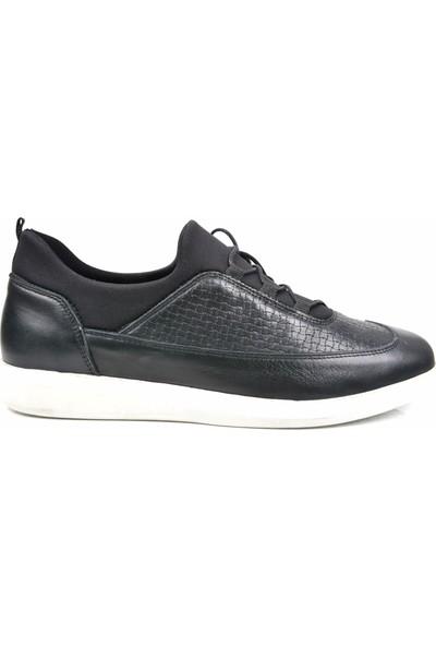 Paul Branco M-83551 Deri Siyah Günlük Erkek Ayakkabı