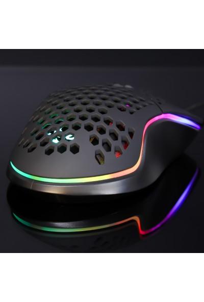 Rush Trepan RM404 12800 DPI RGB Mouse