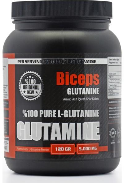 Biceps Glutamıne %100 Pure L - Glutamine 120 gr 24 Servis
