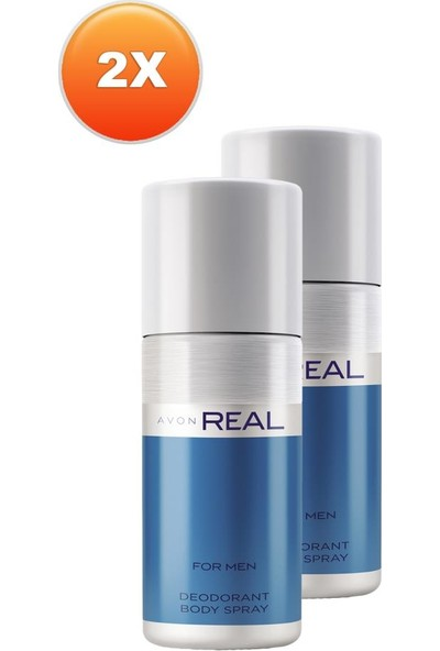 Avon Real Erkek Deodorant Ikili Set
