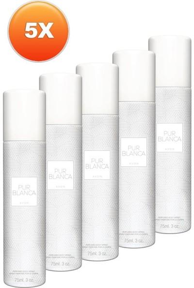 Avon Pur Blanca Kadın Deodorant Beşli Set
