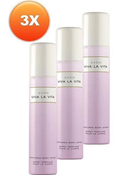 Avon Viva La Vita Kadın Deodorant Üçlü Set