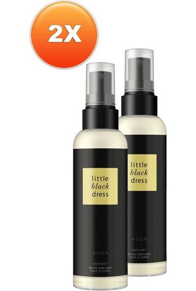 Avon Little Black Dress Kadın Vücut Spreyi Ikili Set