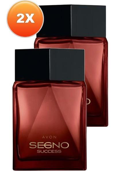 Avon Segno Success Erkek Parfüm Edp 75 Ml. Ikili Set