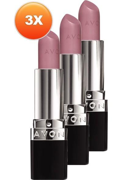 Avon Perfectly Mat Ruj Pure Pink Üçlü Set
