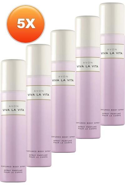 Avon Viva La Vita Kadın Deodorant Beşli Set