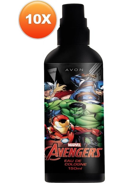 Avon Marvel Avengers Erkek Çocuk Parfümü Edc Onlu Set