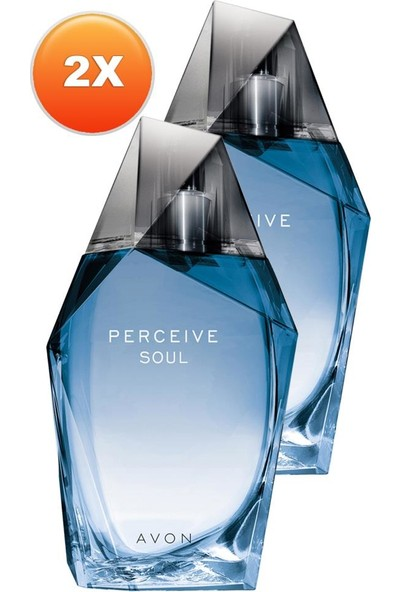 Avon Perceive Soul Erkek Parfüm Edt 100 Ml. Ikili Set