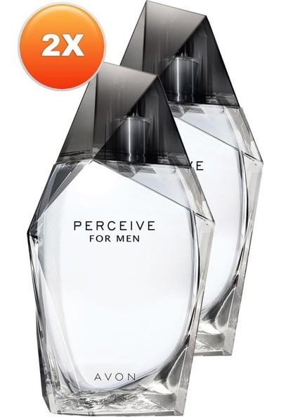 Avon Perceive Erkek Parfüm Edt 100 Ml. Ikili Set
