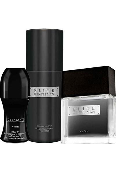 Avon Elite Gentleman Parfümlü 3lü Paket