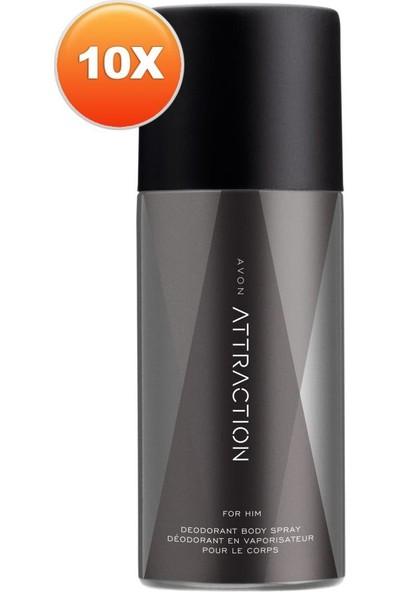 Avon Attraction Erkek Deodorant Onlu Set
