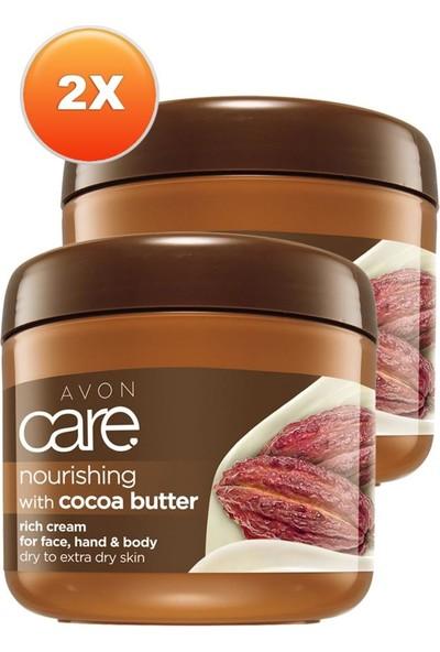 Avon Kakao Yağı Yüz, El ve Vücut Kremi 400 Ml. Ikili Set