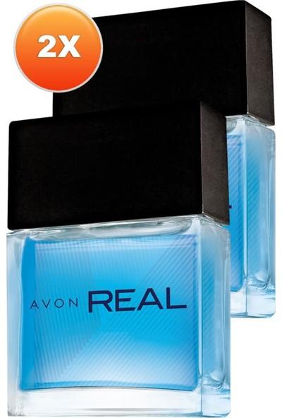 Avon Real Erkek Parfüm Edt 30 Ml. Ikili Set