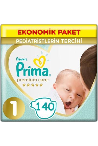 Prima Premium Care 1 Beden ( 70 x 2) 140'lı Yenidoğan Bebek Bezi