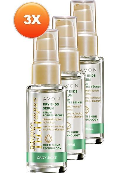 Avon Kuru Saç Ucu Onarıcı Serum 30 ml 3'lü Set
