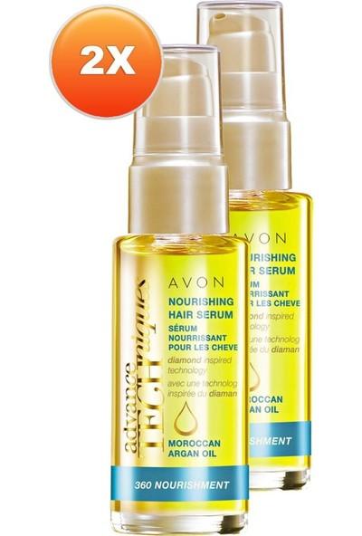 Avon Fas Argan Yağı Besleyici Saç Serumu 30 ml 2'li Set