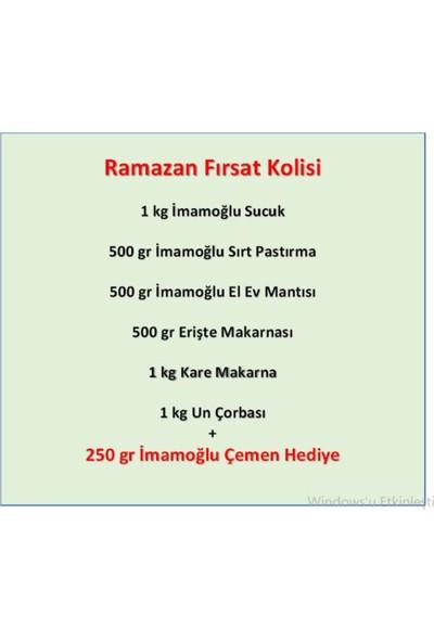 Imamoğlu Efsane Ramazan Kolisi Akçakoyunlu - Kayseri