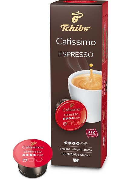Tchibo Espresso Elegant 10'lu Kapsül Kahve