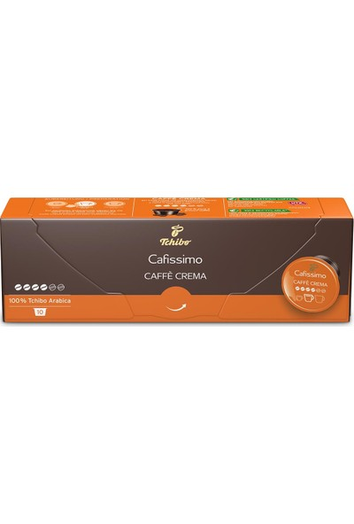 Tchibo Caffè Crema Rich Aroma 10'lu Kapsül Kahve