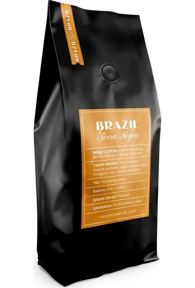 A Roasting Lab Brazil Serra Negra 250 gr Çekirdek